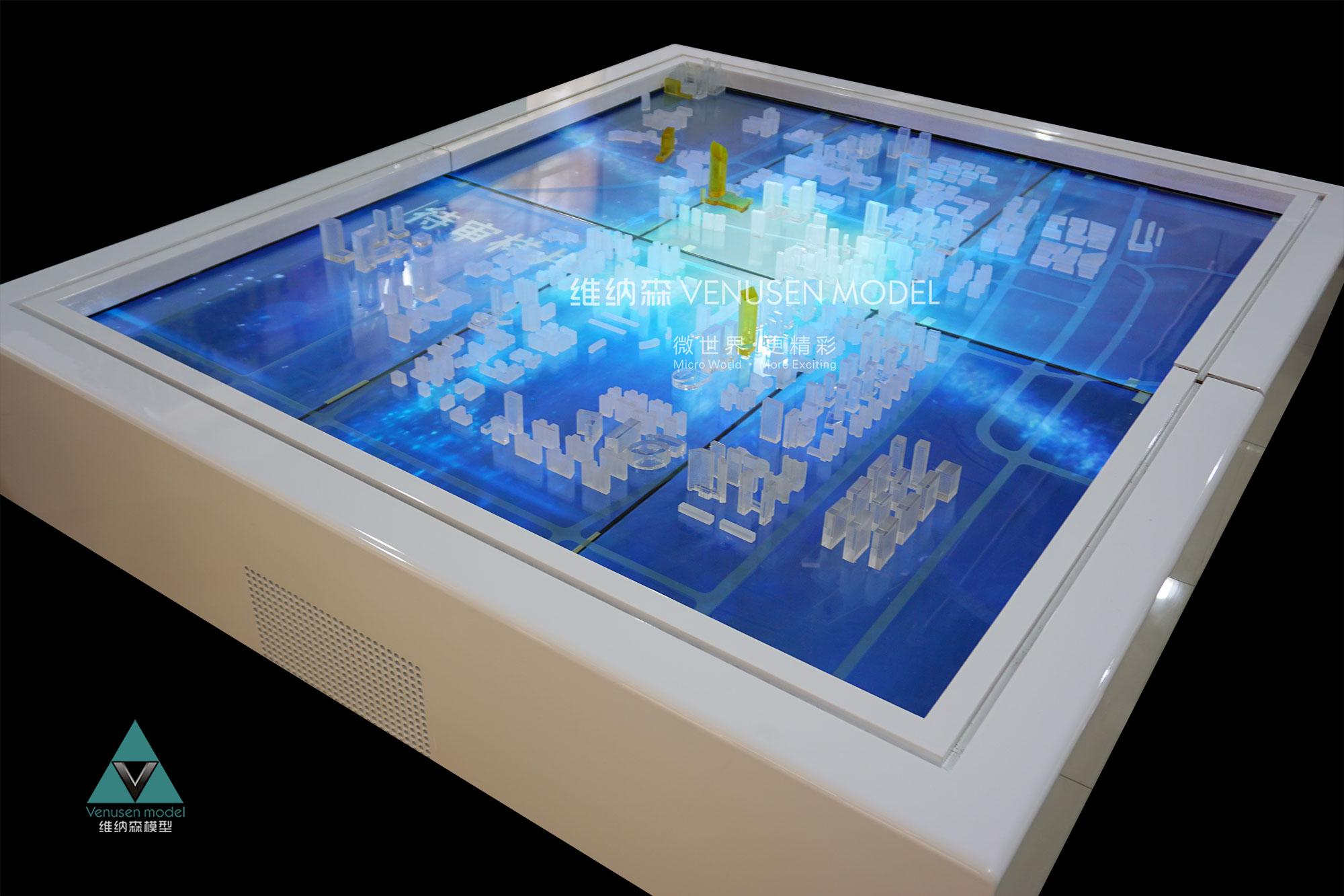 什么是多媒体电子沙盘?跟互动投影沙盘有什么区别?图片
